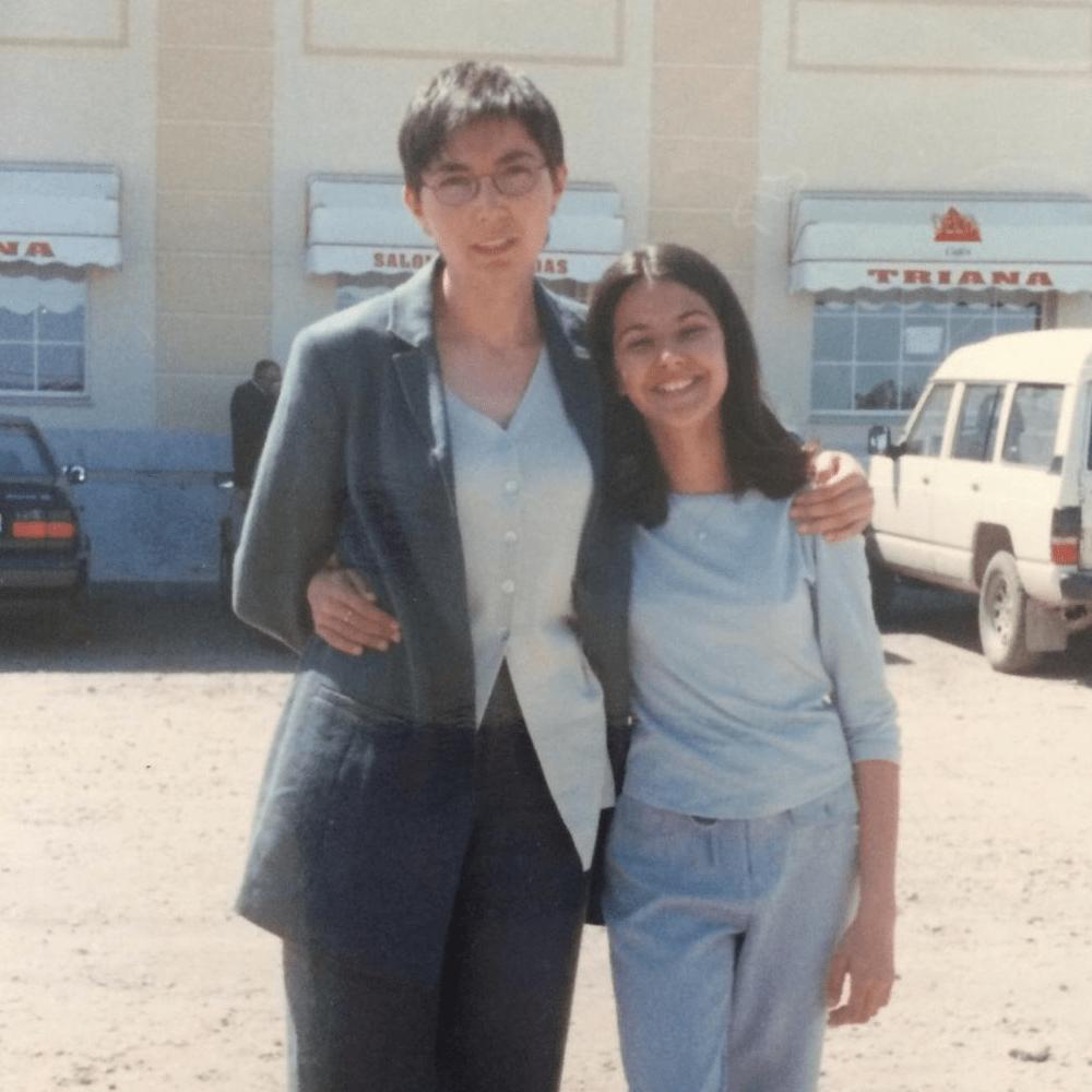 Lucía y María